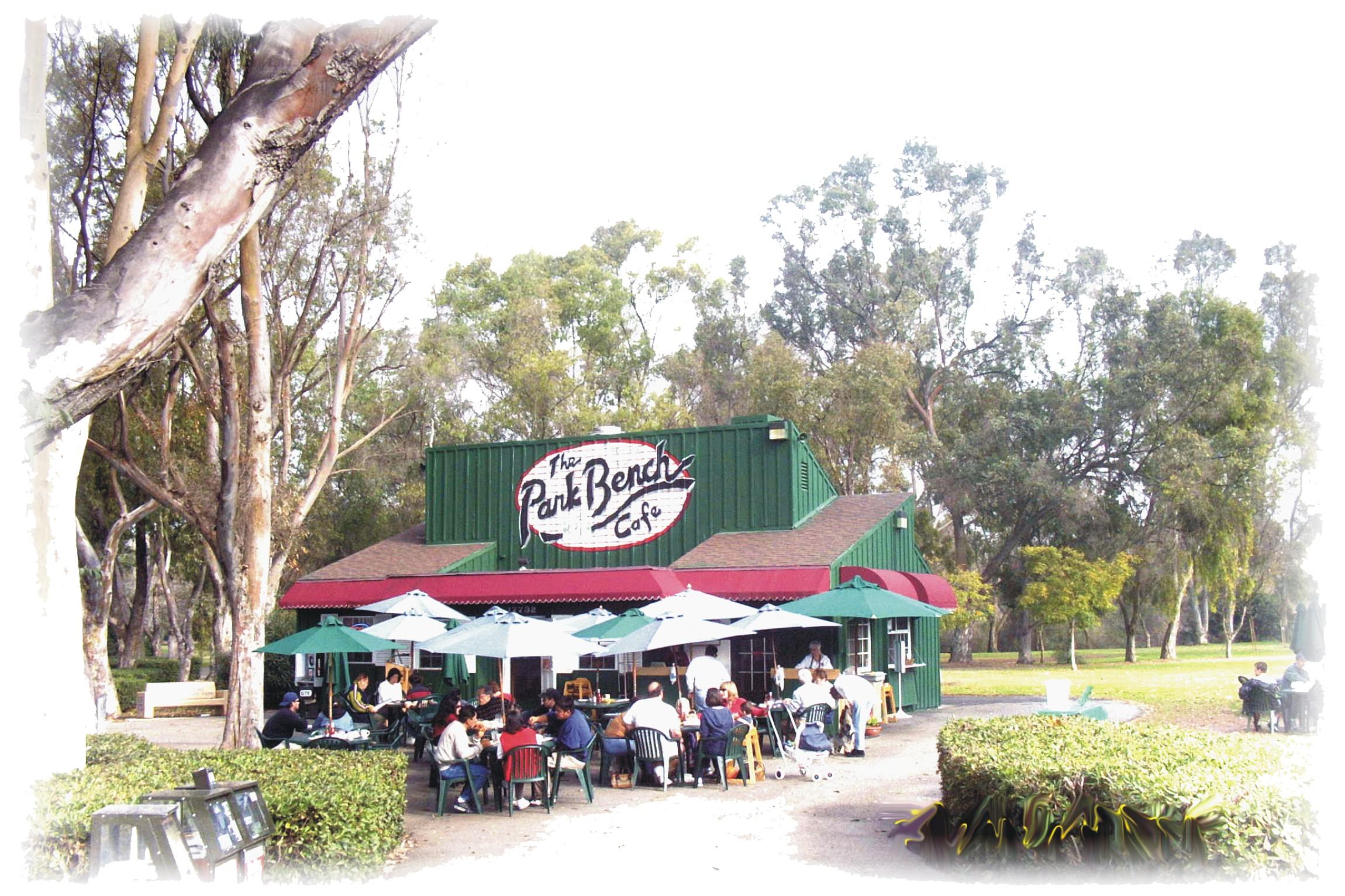Park Bench Cafe Huntington Beach Central Park